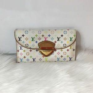 100% Authen Louis Vuitton Tri-Fold Eugenie Wallet
